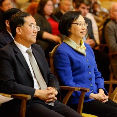 Otvárací ceremoniál Konfuciovho inštitútu pri UK (11)