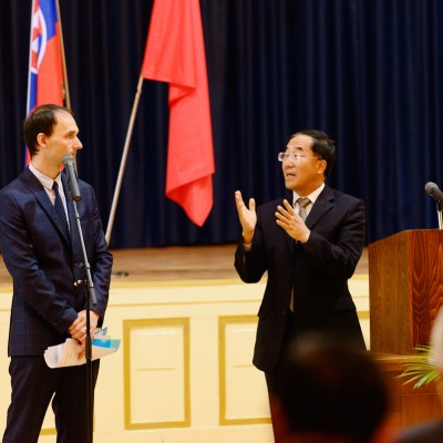 Otvárací ceremoniál Konfuciovho inštitútu pri UK (13)