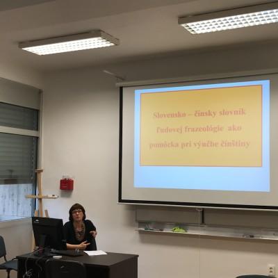 Konferencia Čínsky jazyk výzvy a úskalia výučby (5)