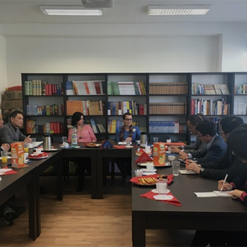 Seminár pre učiteľov čínskeho jazyka