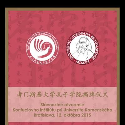 Otvárací ceremoniál Konfuciovho inštitútu pri UK (1)
