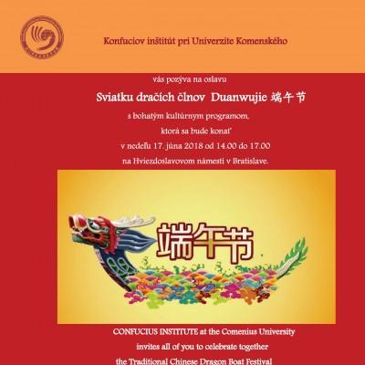 Pozvánka na Sviatok dračích člnov Dragon Boat Festival Invitation_uprava