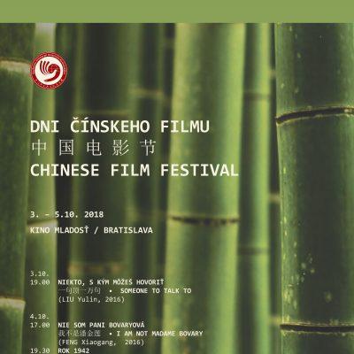 Dni čínskeho filmu 2018